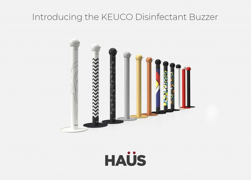 KEUCO Disinfect Buzzer - Now Available at HAUS Isle of Man